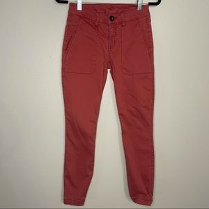 CABI Hutton Jogger in Nantucket Red 0